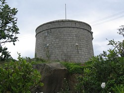 James Joyce's martello tower. Just because. - IMAGE VIA