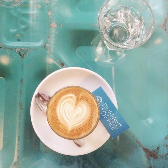 Cortado at Blueprint Coffee.   Instagram/@coffeesundays