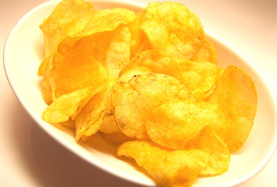 Lay's Sriracha potato chips look a lot like Lay's Barbecue potato chips, no? - LIZ MILLER