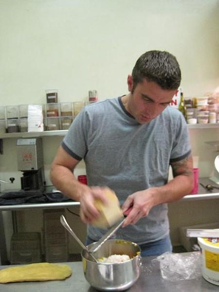 Monarch executive chef Josh Galliano - ROBIN WHEELER