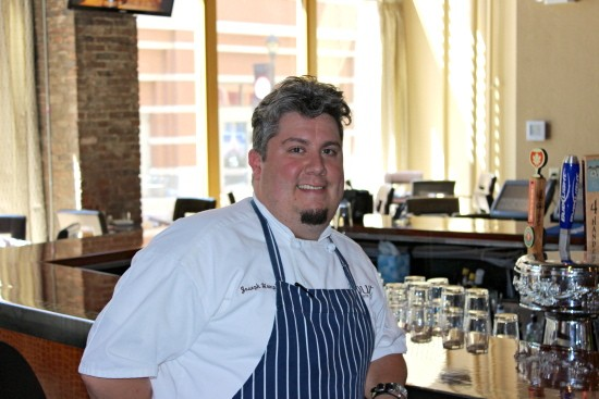 Joseph Hemp V, chef of Robust | Ian Froeb