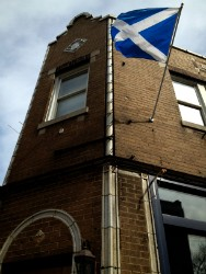 Scottish pride at the Arms. - CAILLIN MURRAY