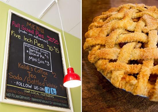 The menu at Pie Oh My. - MABEL SUEN