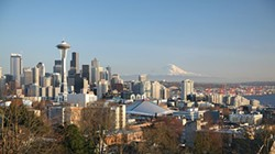 Seattle, powered by coffee - IMAGE VIA
