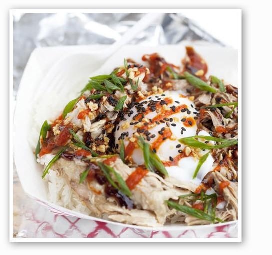 The Flying Pig at Guerrilla Street Food. | Jennifer Silverberg