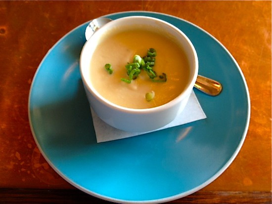 The cauliflower soup at Cleveland-Heath | Ian Froeb