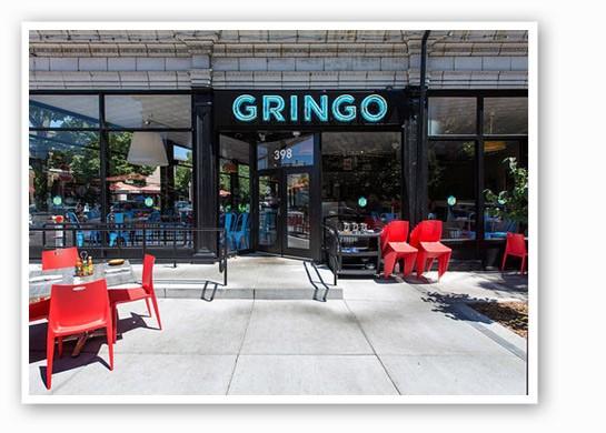 Gringo's perfect people-watching patio.   Jennifer Silverberg