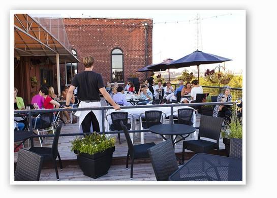 The rooftop patio at Vin de Set. | Laura Ann Miller