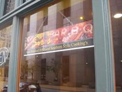 Sir's Bar-B-Q now open downtown. - IAN FROEB