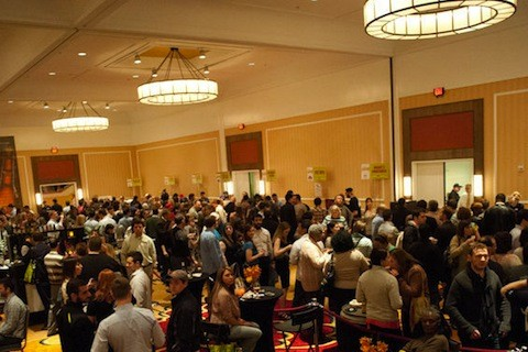 The crowd at Iron Fork 2013 | Jon Gitchoff