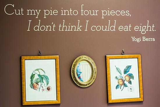 Inside Pie Oh My.
