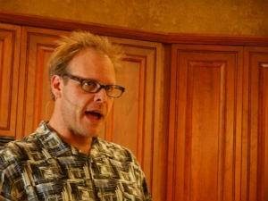 Alton Brown's leaving the studio kitchen. - WIKIMEDIA COMMONS