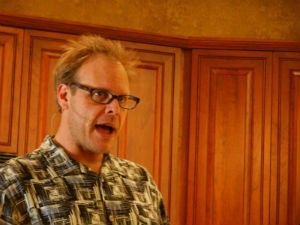 Alton Brown's leaving the studio kitchen. - WIKIMEDIA COMMONS