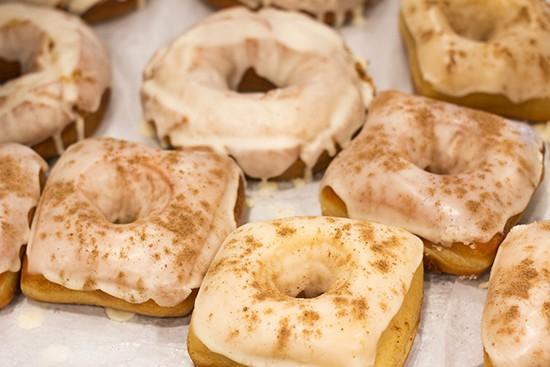 A selection of Vincent Van Doughnut's treats.