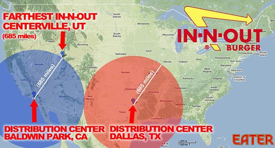 UPDATE] In-N-Out in St. Louis -- Or Pie in the Sky? | Food Blog on carl's jr map, shale gas locations map, verizon map, playa d'en bossa map, in and out burger map, taco bell map, burger king map, msn map, los angeles map, jack in the box map, facebook map, in and out locations map,