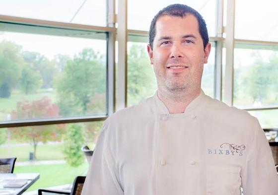 Chef Corey Ellsworth of Bixby's Restaurant at the Missouri History Museum. | Sara Ketterer
