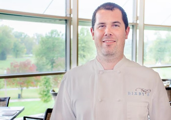 Chef Corey Ellsworth of Bixby's Restaurant at the Missouri History Museum. | Sara Ketterer