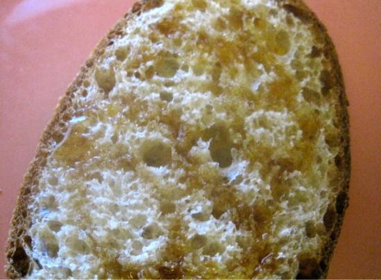 222 Artisan Bakery's whole-wheat-and-honey bread - ROBIN WHEELER