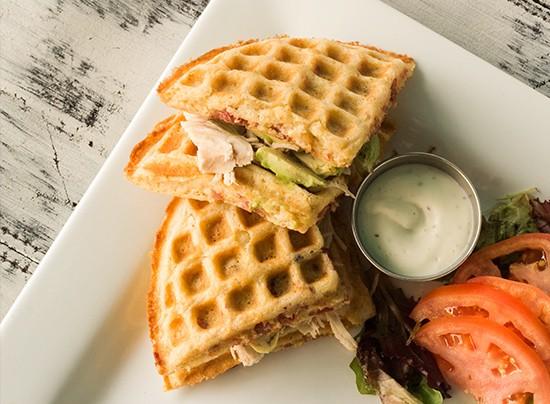 "The ""Melt Club"" sandwich."