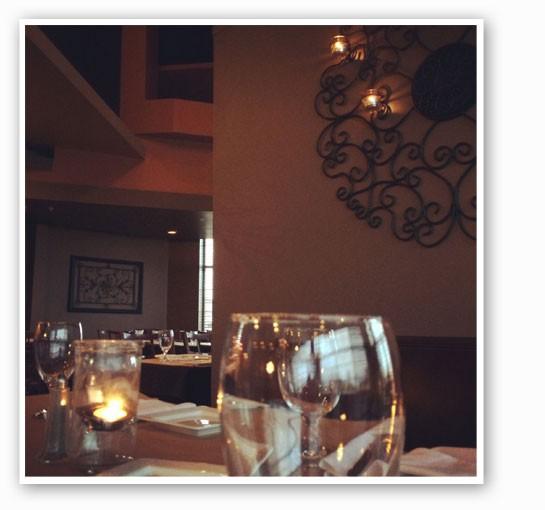 Inside the new dining room at Vito's.   Gio La Fata