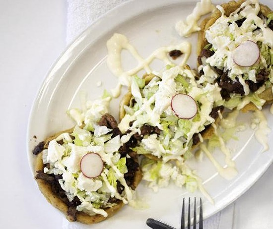 One of the many fine dishes at this year's Best Taqueria - JENNIFER SILVERBERG