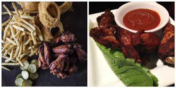 Smoked wings at WildSmoke and the Shaved Duck. | Jennifer Silverberg (left)/Cheryl Baehr (right)