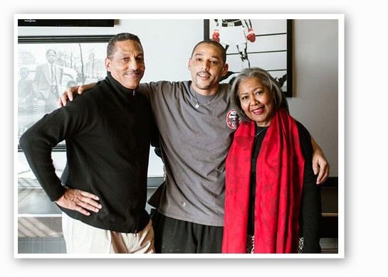 Anthony Sr., Anthony Jr. and Sharon Ellerson | Jennifer Silverberg