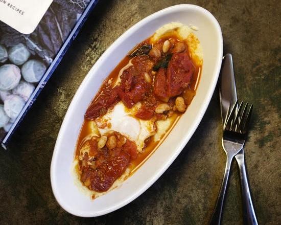 "The ""Hunter's Egg,"" an antipasto at Mad Tomato - JENNIFER SILVERBERG"