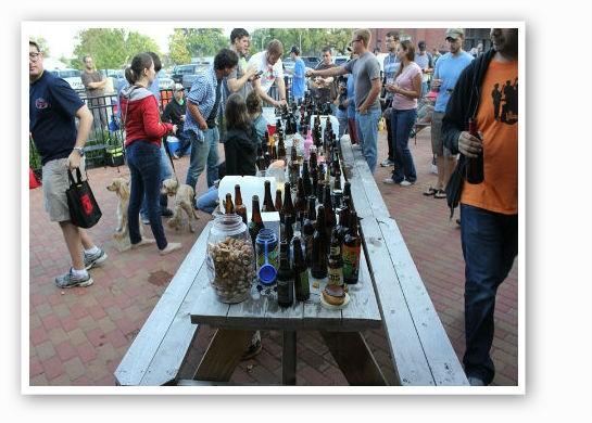 The great beer swap.   Pat Kohm