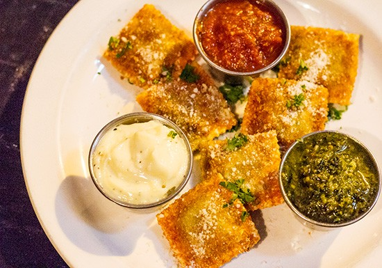 Toasted ravioli at Mangia Italiano. | Mabel Suen