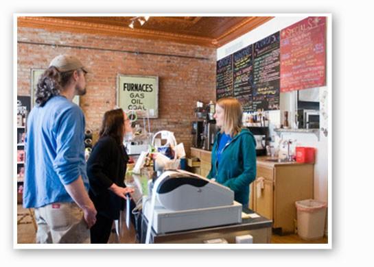 Local Harvest in better times. | Jennifer Silverberg