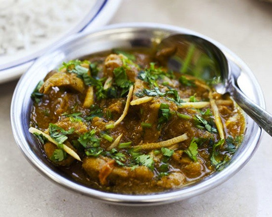 A chicken curry from Spice-n-Grill - JENNIFER SILVERBERG