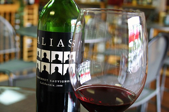 Alias Cabernet Sauvignon: the wine world's Clark Kent, only cooler. - KATIE MOULTON