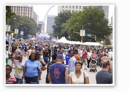 Taste of St. Louis 2013. | Steve Truesdell