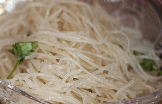 Thai glass noodles from Mandalay Asian Cuisine. | Caroline Yoo