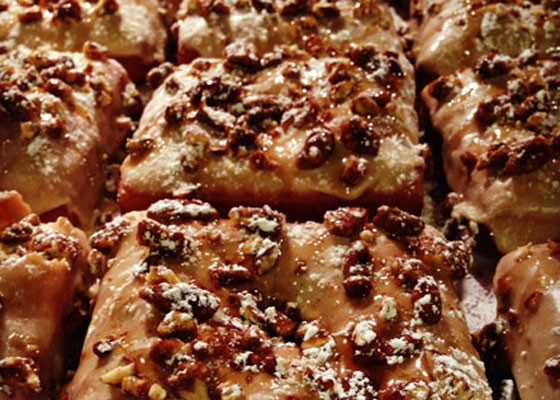The french toast doughnut from Vincent Van Doughnut.   Brian Marsden