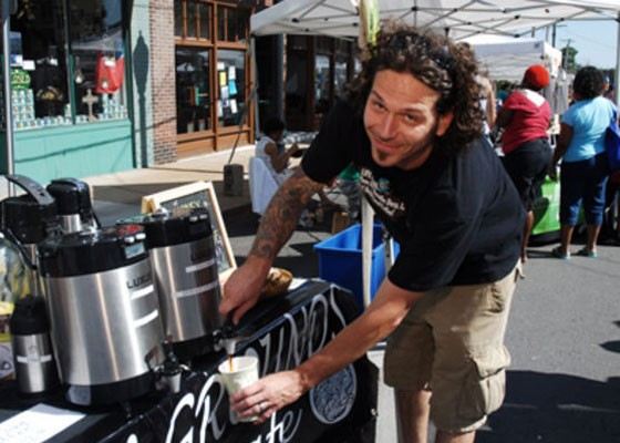 Foundation Grounds owner Pedro Abbate at Taste of Maplewood. | Egan O'Keefe