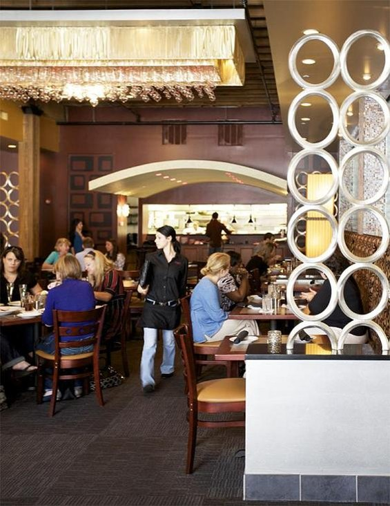 The dining room of Copia Urban Winery - JENNIFER SILVERBERG