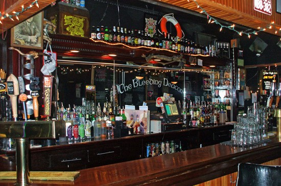 This bar doesn't actually require a happy hour in order to make you happy. But it'll give you one anyway. - KRISTEN KLEMPERT