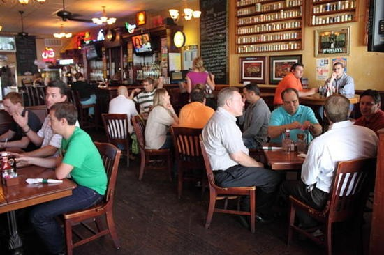 Inside Kilkenny's Irish Pub in Clayton. - KAYCI MERRITTE