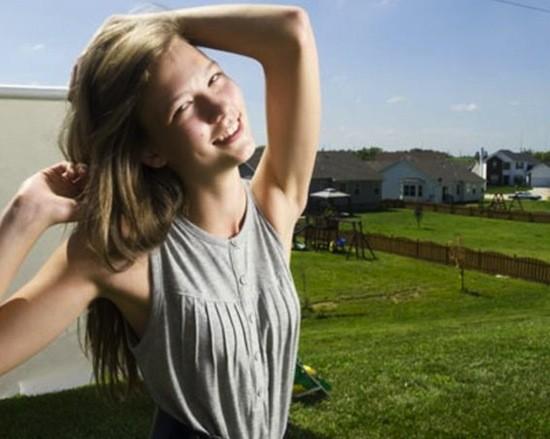 Karlie Kloss when RFT profiled her in 2008, age 16   Jennifer Silverberg