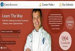 CEC's website shows off happy graduates. - CAREERED.COM
