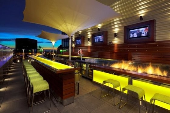 It's never too cold for the Fire & Ice party at Three Sixty. | Debbie Frank