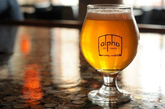 The Belgian Pale Ale at Alpha. - CAILLIN MURRAY