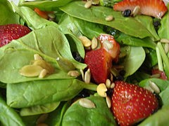 A big bowl of death! Stawberries recalled for E. coli, spinach for listeria. - WIKIMEDIA COMMONS