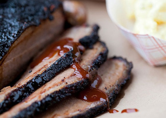 Brisket at Sugarfire Smokehouse. | Jennifer Silverberg