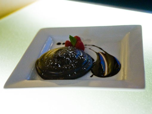 The Full Moon Marshmallow Pie, a dessert at Eclipse. - PHOTO: STEW SMITH