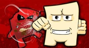 PETA's take on Tofu Boy. - GAMECULTURE.COM