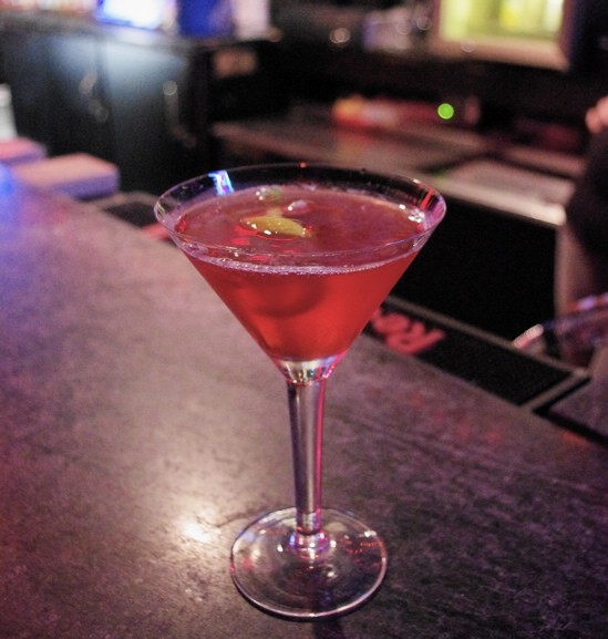 Proceed with caution? Nah, we'll have Nikki Llewellyn's risqué martini! - ALISSA NELSON