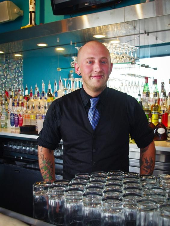 Eclipse bartender James Lake - ALISSA NELSON